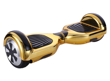 6.5 Chrome Gold  Classic Style segway hoverboard