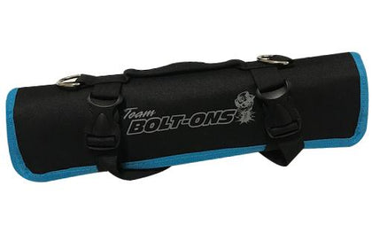 TBO Go-Bag Roll Up Tool Bag Black w/ Blue Trim