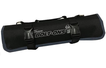 TBO Go-Bag Roll Up Tool Bag Black w/ Grey Trim