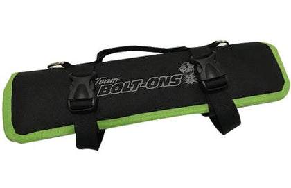 TBO Go-Bag Roll Up Tool Bag Black w/ Green Trim