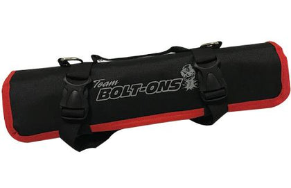 TBO Go-Bag Roll Up Tool Bag Black w/ Red Trim