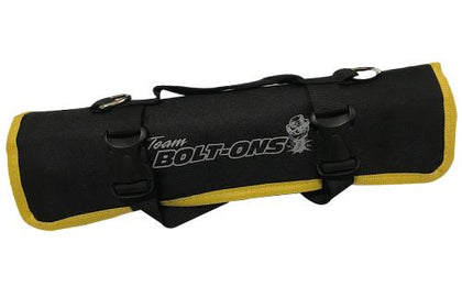 TBO Go-Bag Roll Up Tool Bag Black w/ Yellow Trim