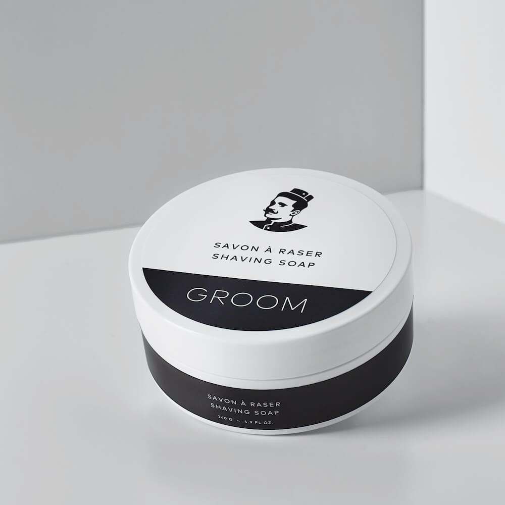 Savon à raser des Industries Groom