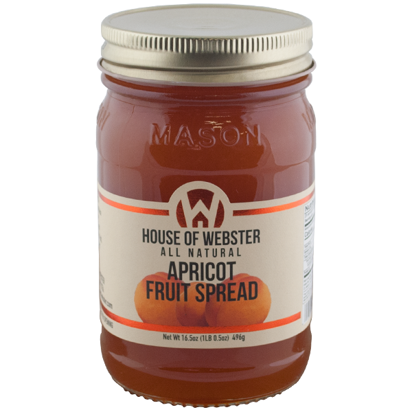 Apricot Fruit Spread - HouseofWebster