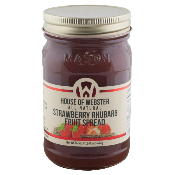 Strawberry Rhubarb Fruit Spread - HouseofWebster