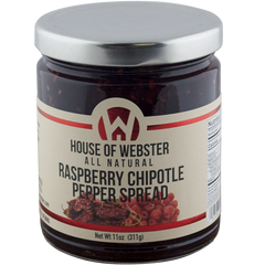 Raspberry Chipotle Pepper Spread - HouseofWebster