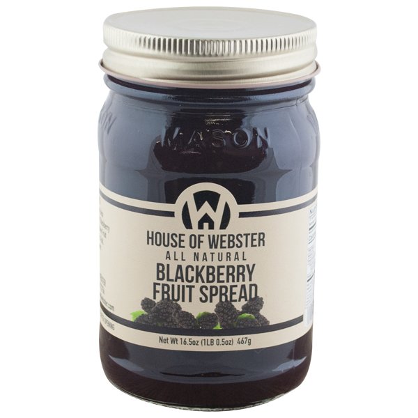 Blackberry Fruit Spread - HouseofWebster