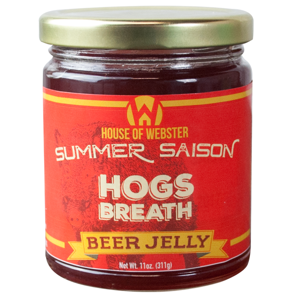 Raspberry Summer Saison Beer Jelly