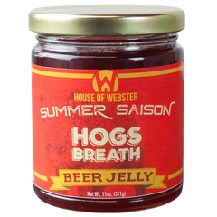 Raspberry Summer Saison Beer Jelly - HouseofWebster