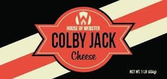 Colby Jack  Cheese 1lb - HouseofWebster