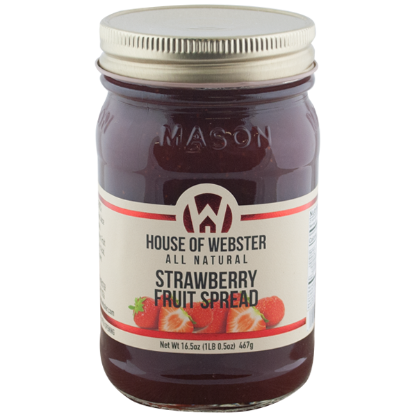 Strawberry Fruit Spread - HouseofWebster