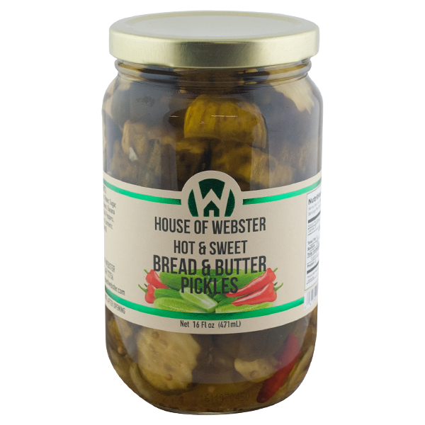 Hot & Sweet Bread & Butter Pickles