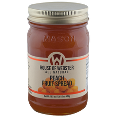 Peach Fruit Spread - HouseofWebster