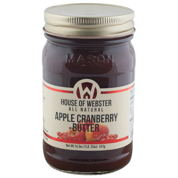 Apple Cranberry Butter