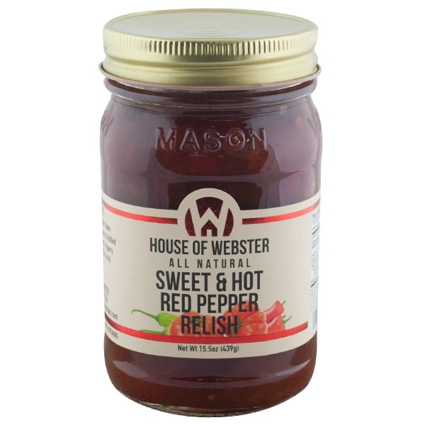 Sweet & Hot Pepper Relish