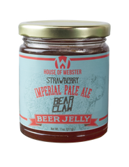Strawberry IPA Beer Jelly