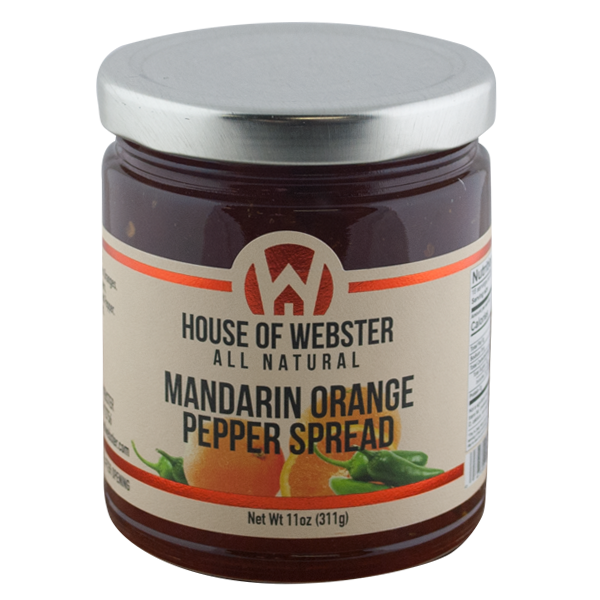 Mandarin Orange Pepper Spread