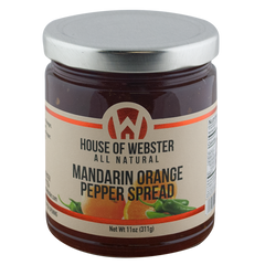Mandarin Orange Pepper Spread - HouseofWebster