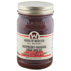 Red Raspberry Rhubarb Fruit Spread