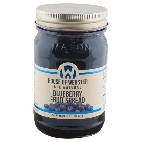 Blueberry Fruit Spread - HouseofWebster