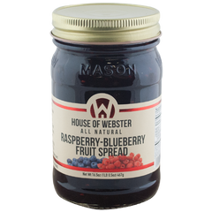 Raspberry Blueberry Fruit Spread - HouseofWebster