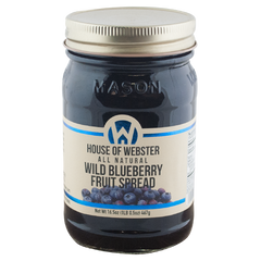 Wild Blueberry Fruit Spread - HouseofWebster