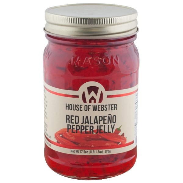 Red Jalapeno Pepper Jelly - HouseofWebster