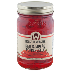Red Jalapeno Pepper Jelly