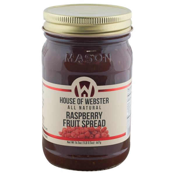 Red Raspberry Fruit Spread