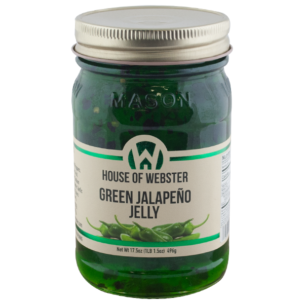 Green Jalapeno Pepper Jelly