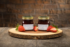 Gift of Pure Strawberry Preserves - 2 Jars