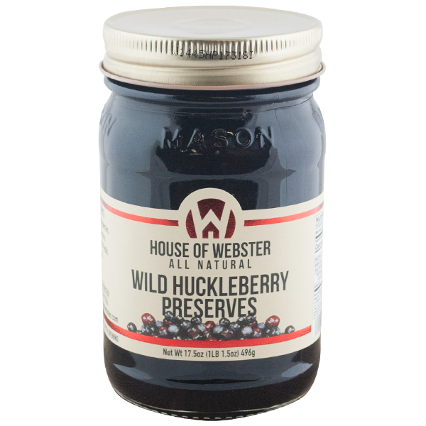 Wild Huckleberry Preserves
