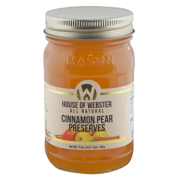 Cinnamon Pear Preserves - HouseofWebster