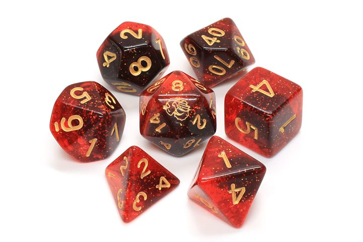 Igneous 7 Piece Dice Set Pre-Order