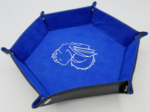 Hexagon Folding Dice Tray