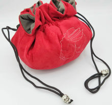 Load image into Gallery viewer, Red Velvet Dice Bag