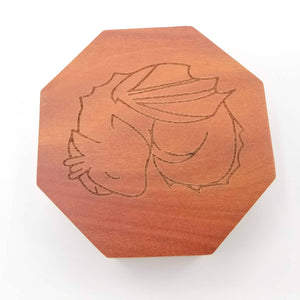 Talys Hexagonal Red Sandalwood Dice Box
