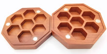 Load image into Gallery viewer, Talys Hexagonal Red Sandalwood Dice Box
