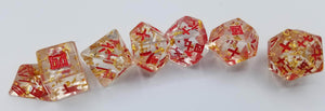 Talis Evolvere Kanji Resin Dice Set