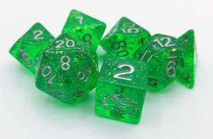 Vitreous 7 Piece Dice Set (Pre-Order)