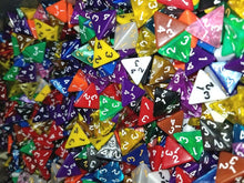 Load image into Gallery viewer, HDDice D4 Random Dice (Set of 50)