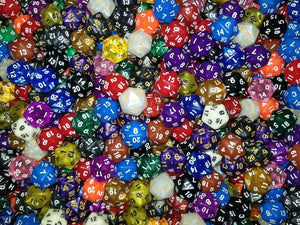 HDDice D20 Random Dice (Set of 50)