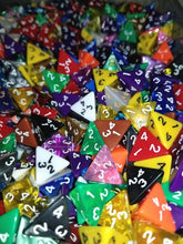 Load image into Gallery viewer, HDDice D4 Random Dice (Set of 5)