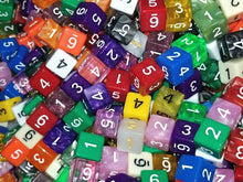 Load image into Gallery viewer, HDDice D6 Random Dice (Set of 25)