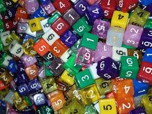 Load image into Gallery viewer, HDDice D6 Random Dice (Set of 50)