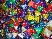 Load image into Gallery viewer, HDDice D4 Random Dice (Set of 25)