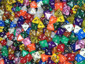 HDDice D8 Random Dice (Set of 25)
