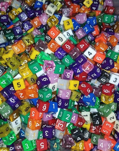 HDDice D6 Random Dice (Set of 50)