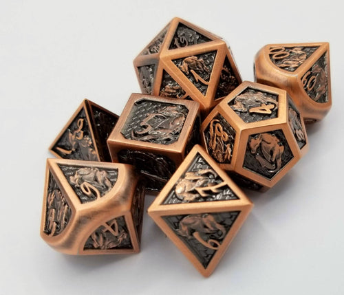 Acton Metal Dice Set (Talys Dragon)