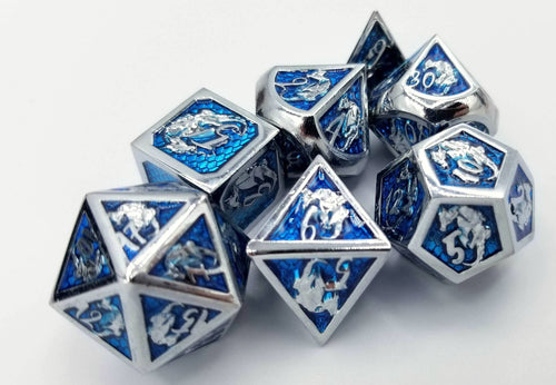 Avira Metal Dice Set (Talys Dragon)